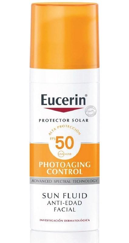 Protector Solar Fps50 Fotoenvejecimiento Fluido Facial 50ml