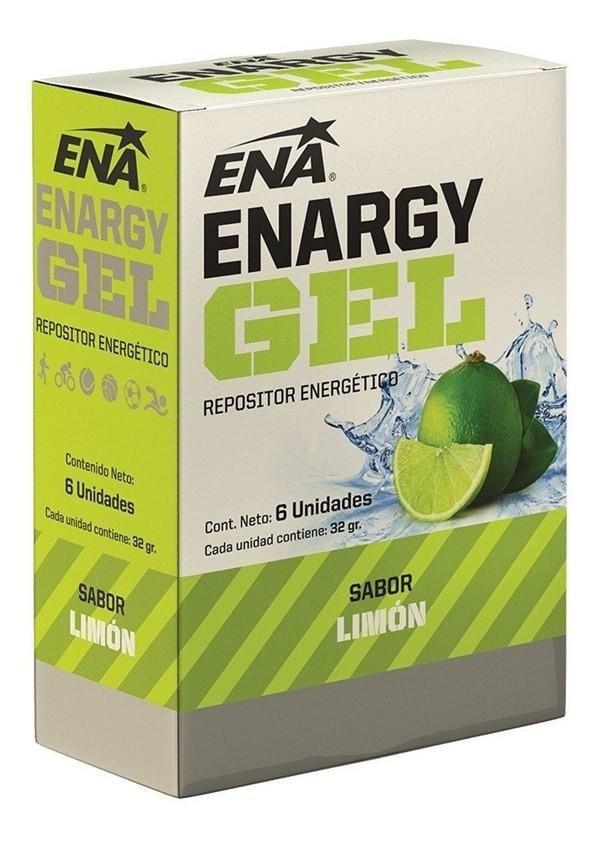 Enargy Gel Limon X 6 Un