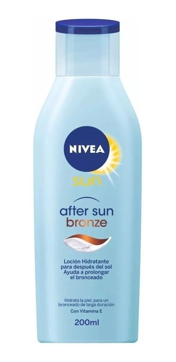 Nivea Sun After Sun Bronze Locion 200ml