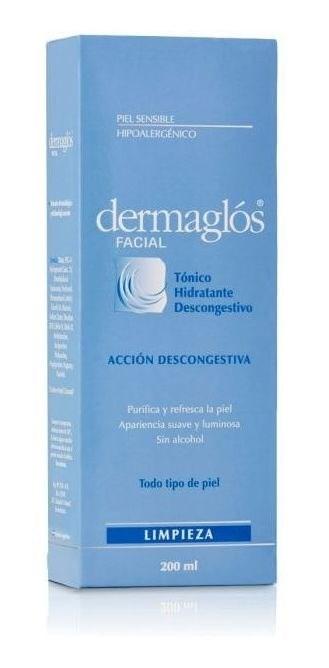 Dermaglós Facial Tónico Hidratante Tonico X 200ml