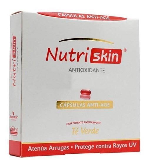 Nutriskin Antioxidante Cápsulas Duras X 32