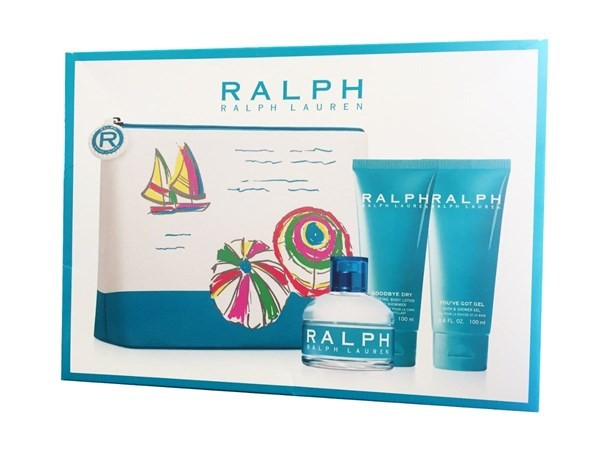 Perfume Ralph Edt 100ml+body Locion+gel Ducha
