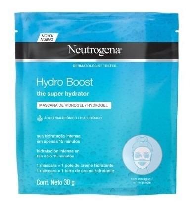 Máscara Facial De Hidrogel Neutrogena Hydro Boost 30ml