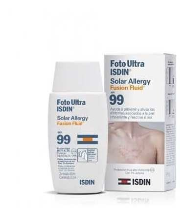 Isdin Foto Ultra Solar Allergy Spf99 X 50 Ml