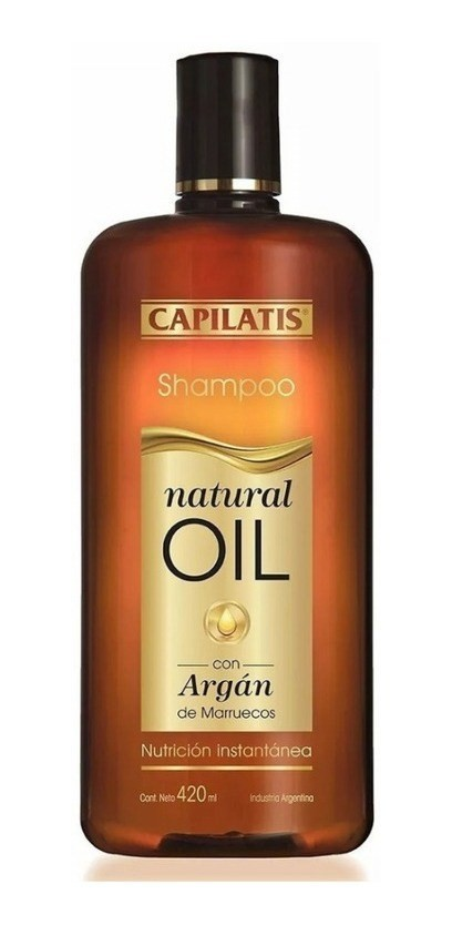 Capilatis Shampoo Natural Oil X 420 Ml