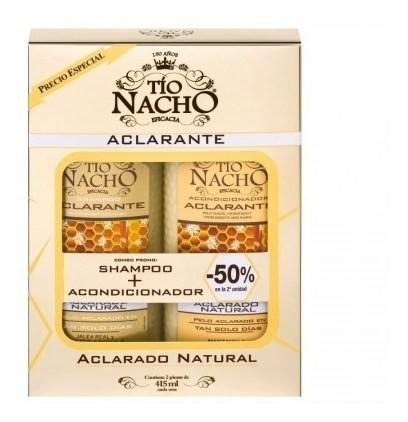 Tio Nacho Monoestuche Aclarante Shampoo + Acondicionador