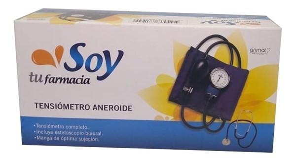 Tensiometro Aneroide Con Estetoscopio Soy Tu Farmacia.