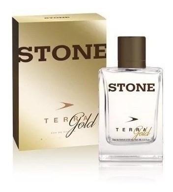Perfume  Stone Terra Gold  Hombre  Edp 100ml