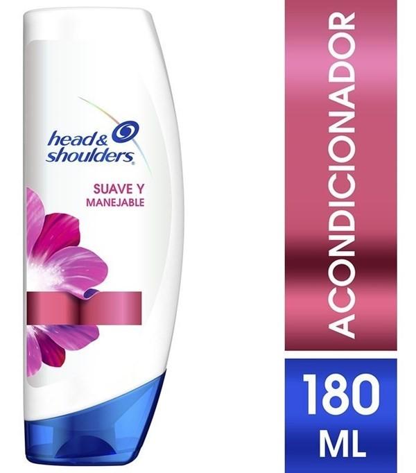 Acondicionador Head & Shoulders Suave y Manejable 180 ml