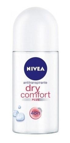 Nivea Desodorante Roll On Dry Comfort 48 Hs X 50 Ml