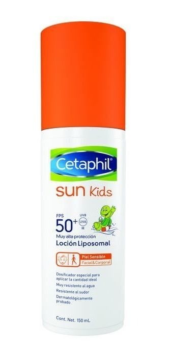 Cetaphil Sun Kids - Locion Facial/ Corporal Fps 50+ X 150ml