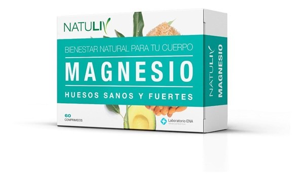 Natuliv Magnesio 60 Comprimidos