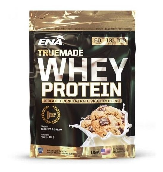 Ena True Made Whey Protein Cookies & Cream X 453 Grs