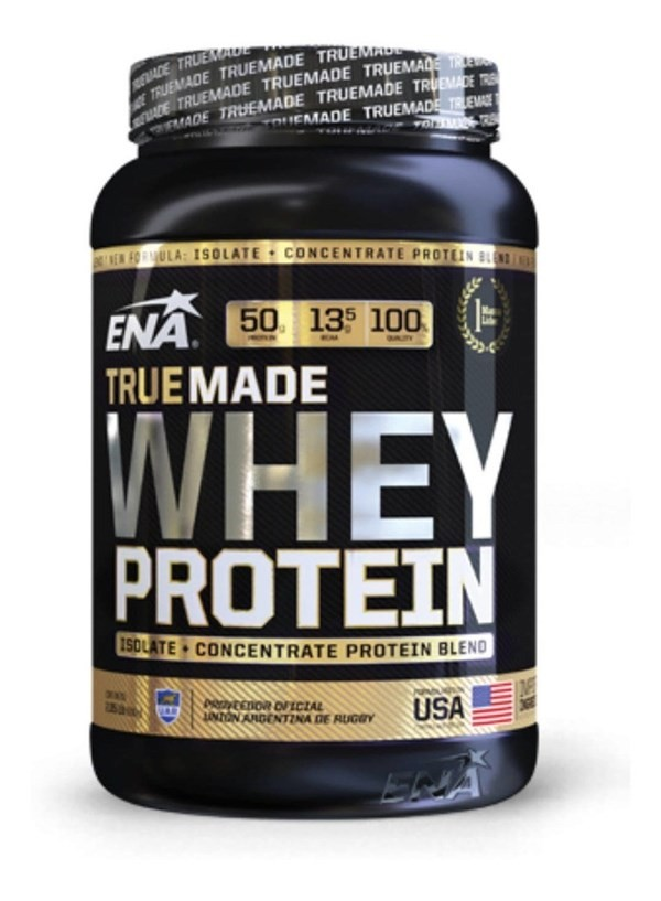 Ena Whey Protein True Made Frutilla X 930 Gr