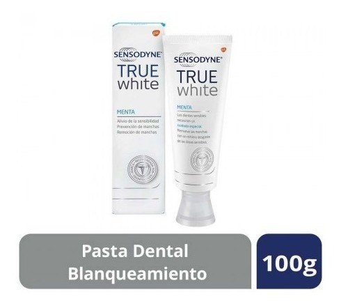 Sensodyne True White Pasta Dental Para Dientes Sensibles, 10