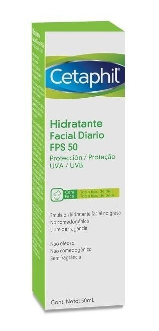 Hidratante Facial Diario Fps 50 X 50ml