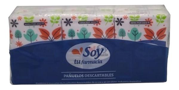 Pañuelos Descartables Soy Tu Farmacia 6 Paquetes X8 Unidad