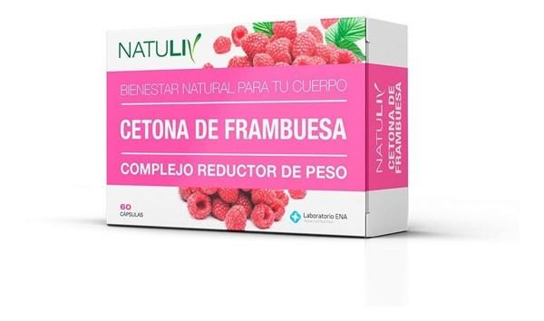 Natuliv Cetona De Frambuesa 60 Cápsulas