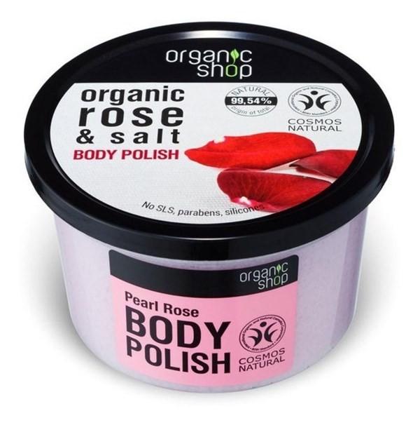 Organic Shop Corporal Rosa Perla Y Sal Marina - 250ml