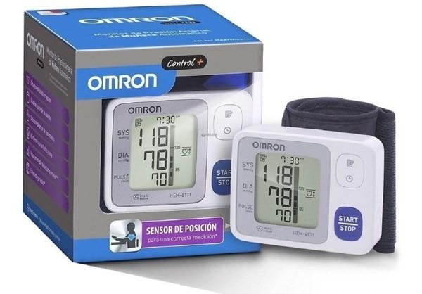 Tensiometro Digital Automatico De Muñeca Omron Hem 6131 Ajustable