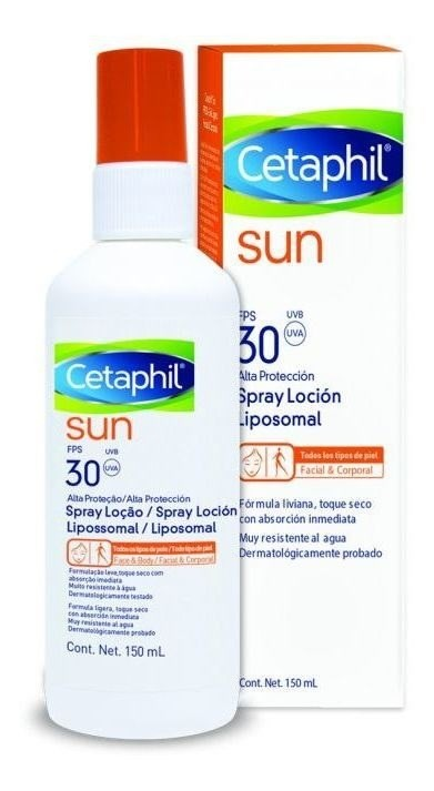 Cetaphil Spray Facial/ Corporal Fps 30 X 150ml