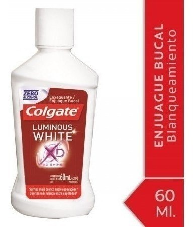 Enjuague Bucal Colgate Luminous White 60ml