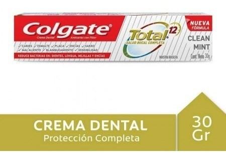 Crema Dental Colgate Total 12 Clean Mint 30g