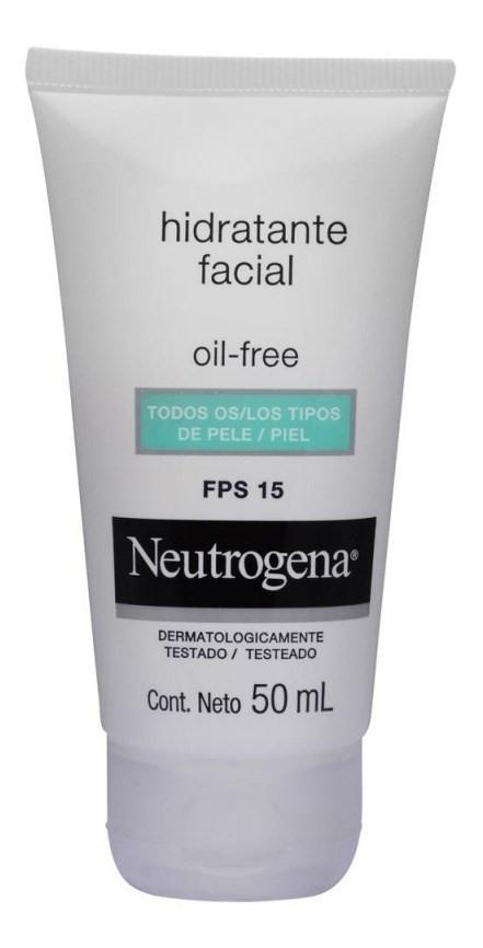 Neutrógena Crema Hidratante Facia Oil Freel Fps15