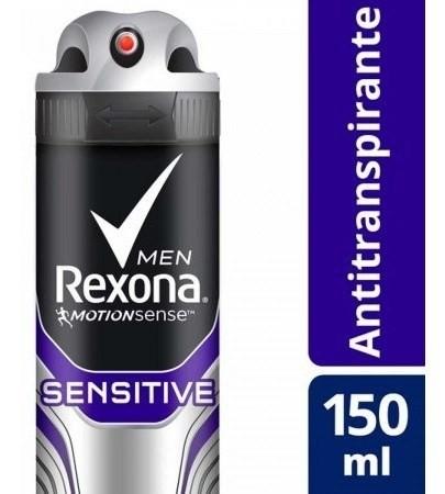 Desodorante Rexona Antitranspirante Sensitive Men 150ml