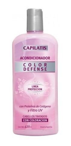 Acondicionador Caida Defense Cabello Capilatis Con Color X 4