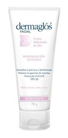 Dermaglós Facial Crema Hidratante Piel Seca Crema X 70g