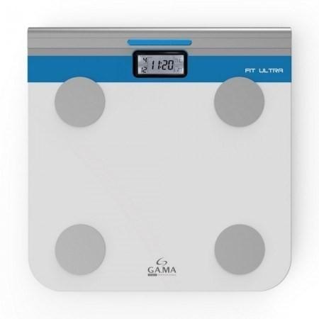 Balanza Digital Gama Fit Ultra 150kg Mide Grasa Y Masa