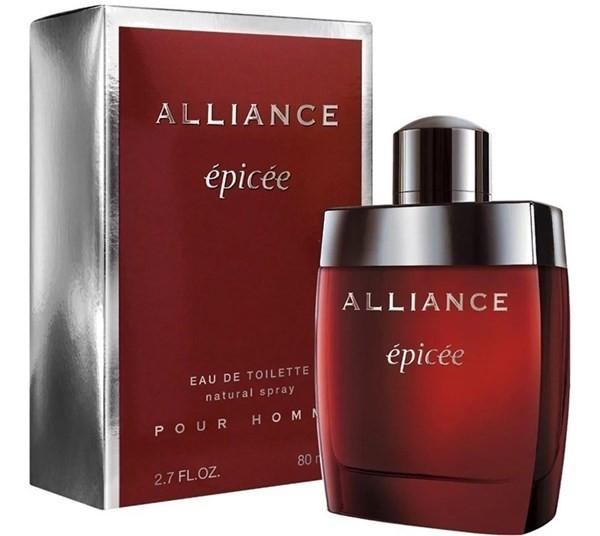 Perfume Hombre Alliance Epicee Edt 80ml