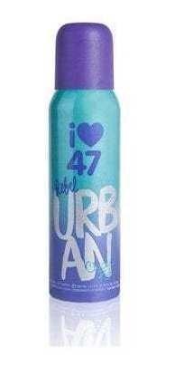 Desodorante 47 Street Rebel X 140 Ml Urban