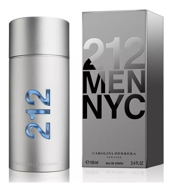 Perfume Hombre Carolina Herrera 212 Men  Edt 100ml