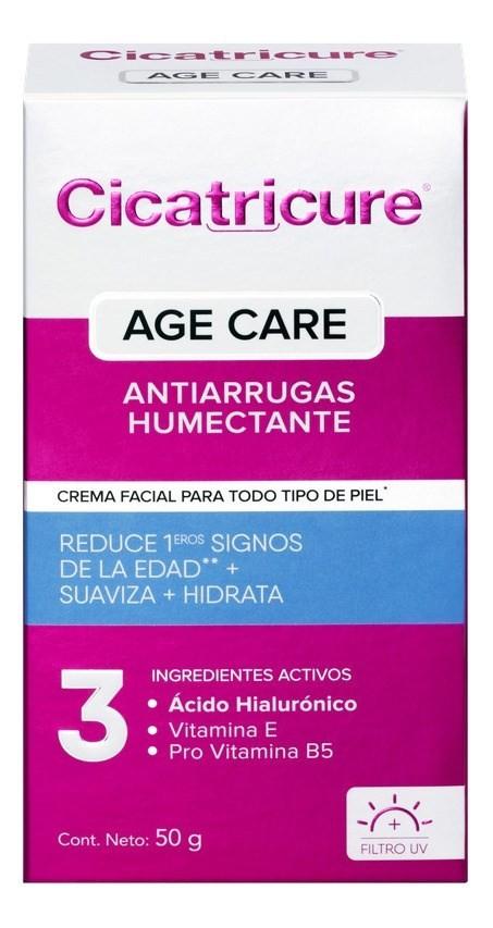 Cicatricure Crema Facial Age Care Humectante  50 Gr