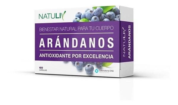 Natuliv Arándanos 60 Cápsulas #1