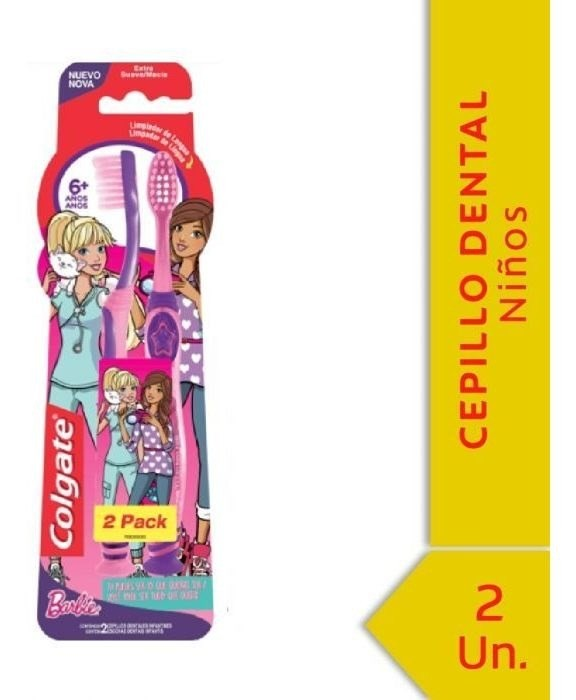 Cepillo Dental Colgate Smiles 6+ Años 2unid Promo Pack