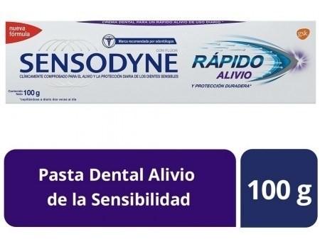 Sensodyne Rápido Alivio Pasta Dental Para Dientes Sensibles,
