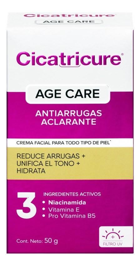 Cicatricure Crema Facial Age Care Aclarante  50 Gr