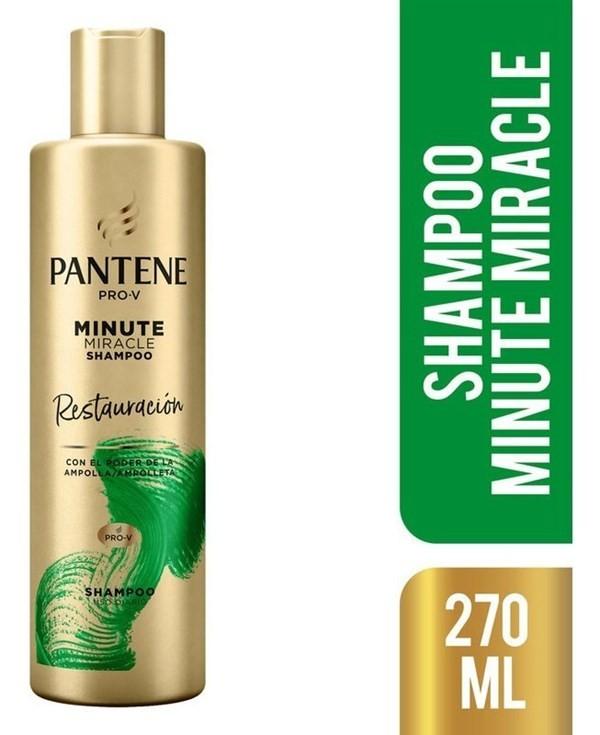 Shampoo Pantene Pro-v Minute Miracle Restauración 270 Ml