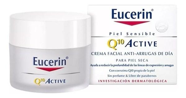 Eucerin Q10 Active Crema Facial Anti Arrugas De Día 50ml
