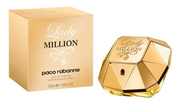 Perfume Lady Millon Paco Mujer Rabanne Edp 50ml
