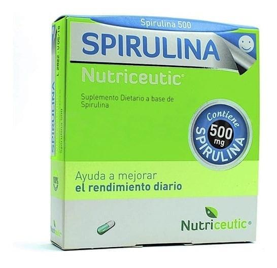 Spirulina Nutriceutic Cápsulas X 64