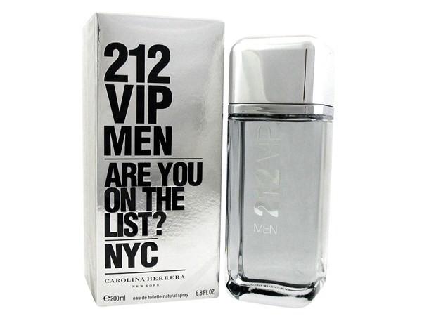 Perfume 212 Vip Men 200ml Carolina Herrera