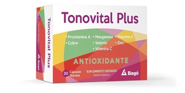 Tonovital Plus Suplemento X30cps