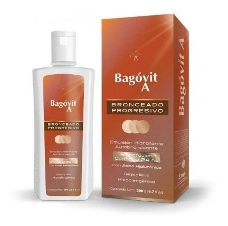 Bagóvit Autobronceante Hidratante Emulsión X 200 Gr