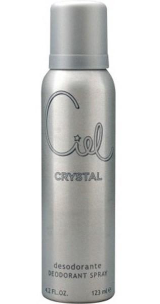 Desodorante Para Mujer Ciel Crystal En Aerosol X 123 Ml.