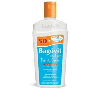 Bagovit Protector Solar Family Care 50fps Emulsión 200ml