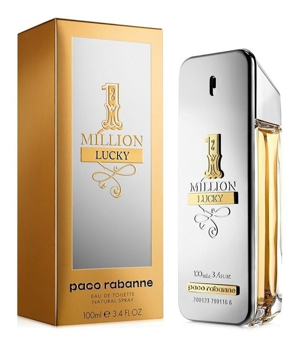 Perfume Paco Rabanne One Million Lucky Hombre Edt 100ml